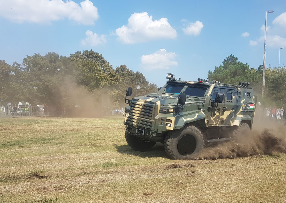 With over 40 Years of Engineering Experience NUROL Makina is now in the  Service of the Hungarian Armed Forces