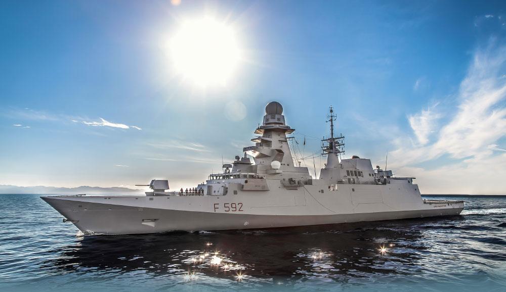FREMM Class Frigates of the Italian Navy