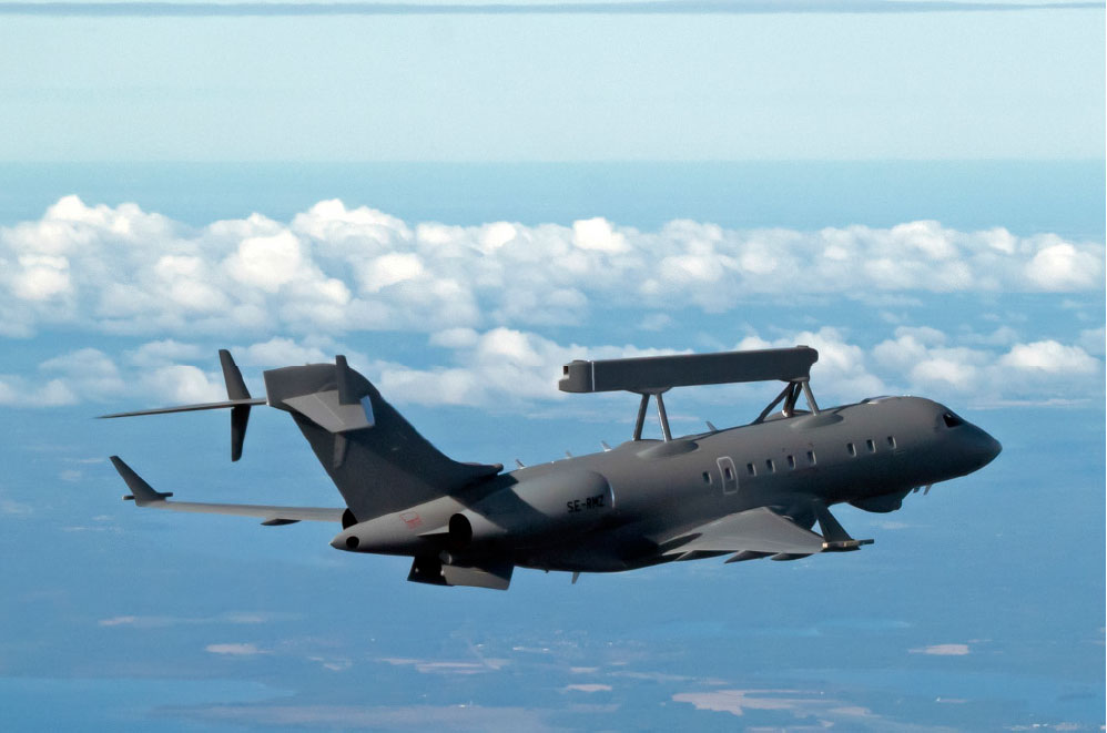 Saab Delivers the First GlobalEye