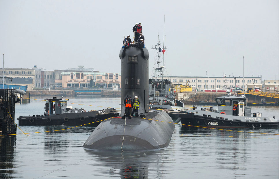 The First Barracuda-class Nuclear Attack Submarine Head out for Sea Trials!