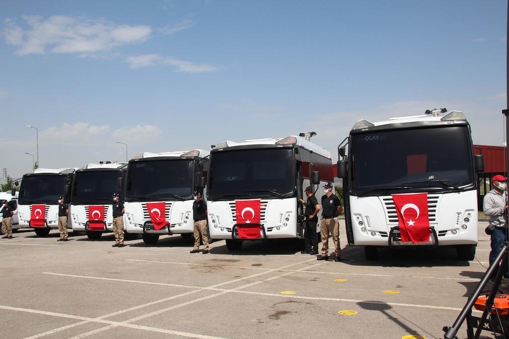 Katmerciler'in Geliştirdiği Kriminal İnceleme Aracı KIRAÇ, İçişleri Bakanı Süleyman Soylu'ya Tanıtıldı