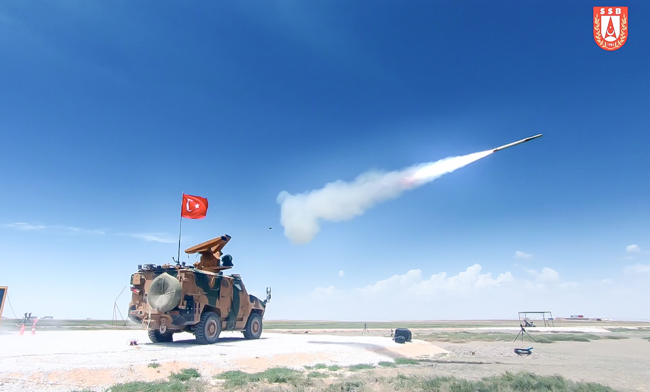 SUNGUR Low Level Air Defense System is Ready to Enter Service!