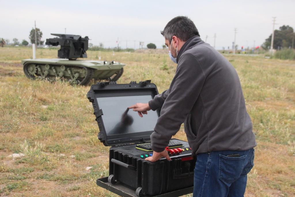 Türkiye'nin İlk İnsansız Mini Tankında Katmerciler İmzası