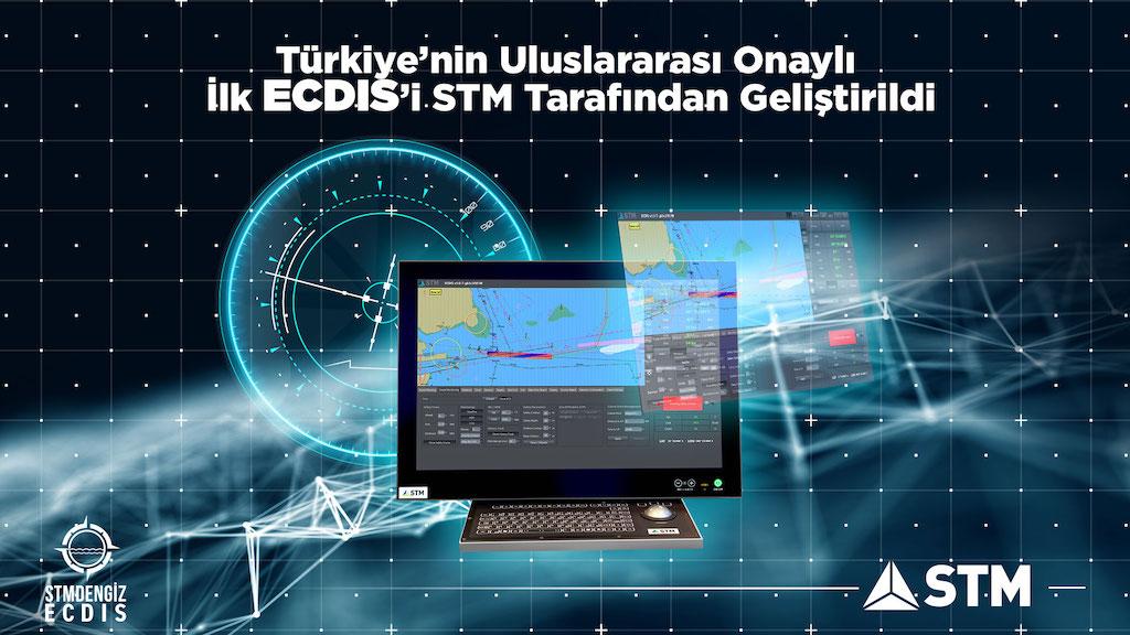 """STM'DEN Denizcilik Sektörüne  Yenilikçi  Teknolojik  Çözüm ; """"ECDIS"""""""