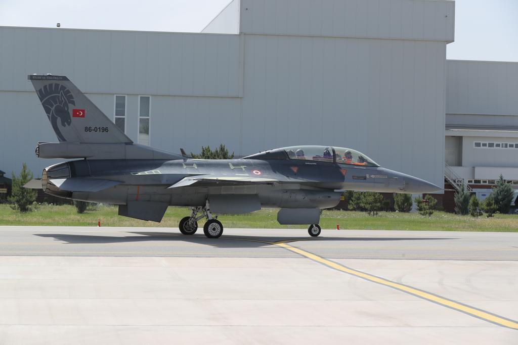 F-16C/D Blok 30 Yapısal İyileştirme Projesinde İlk Teslimat Gecikmeli de Olsa Yapıldı!