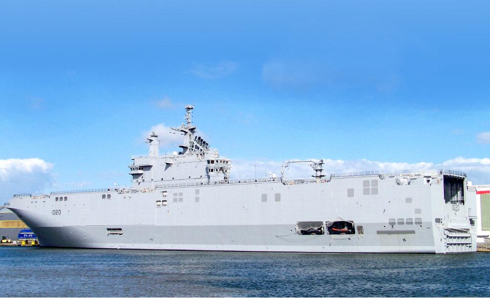 Mısır Deniz Kuvvetleri ve Mistral Sınıfı LHD Gemileri