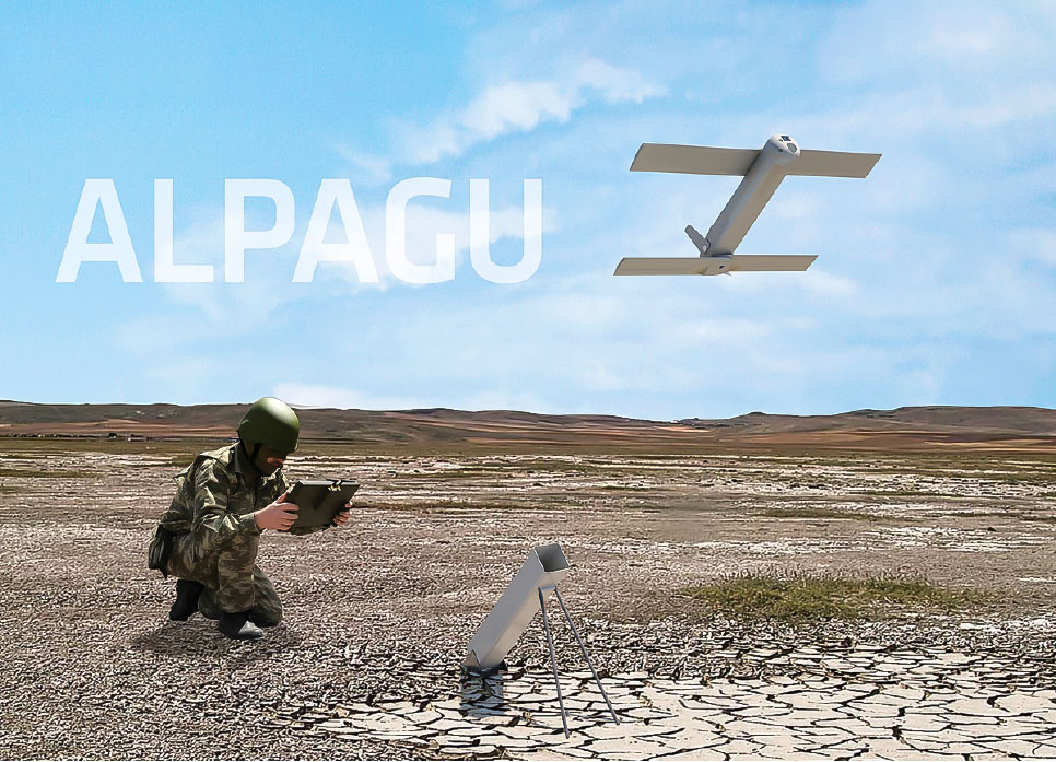 Fixed-Wing Loitering Munition ALPAGU to be in the Inventory of the Turkish Armed Forces by the End of 2020!