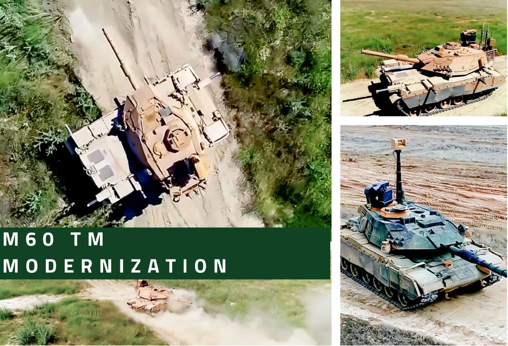 Modernized M60TM MBTs will be a Force Multiplier in Theatre