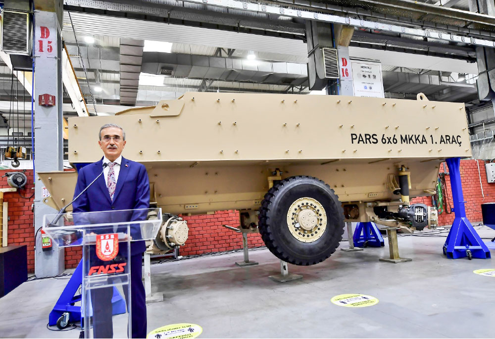 FNSS Ramps up PARS 6x6  Mine-Resistant Vehicles