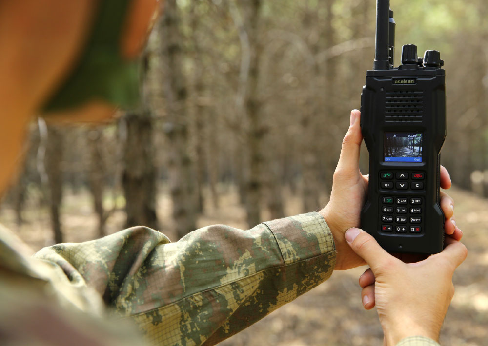 Export Sale of Aselsan's Electronic Warfare Protected Handheld
