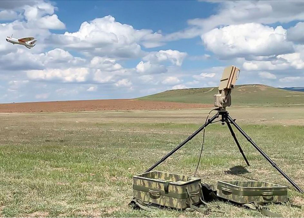 RETINAR FAR-AD Anti-Drone Radar System Delivered to the Turkish Armed Forces