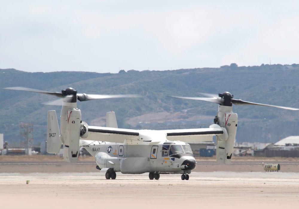 United States Navy Receives First Fleet CMV-22B