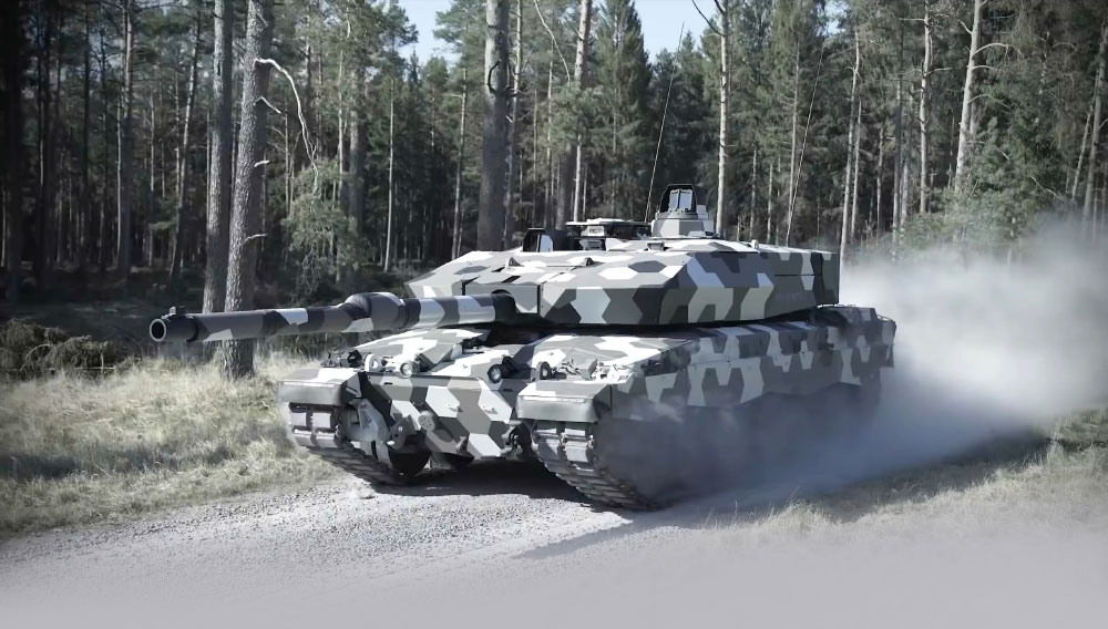 Rheinmetall Unveils the Advanced Technology Demonstrator with The Next-Generation 130mm Cannon