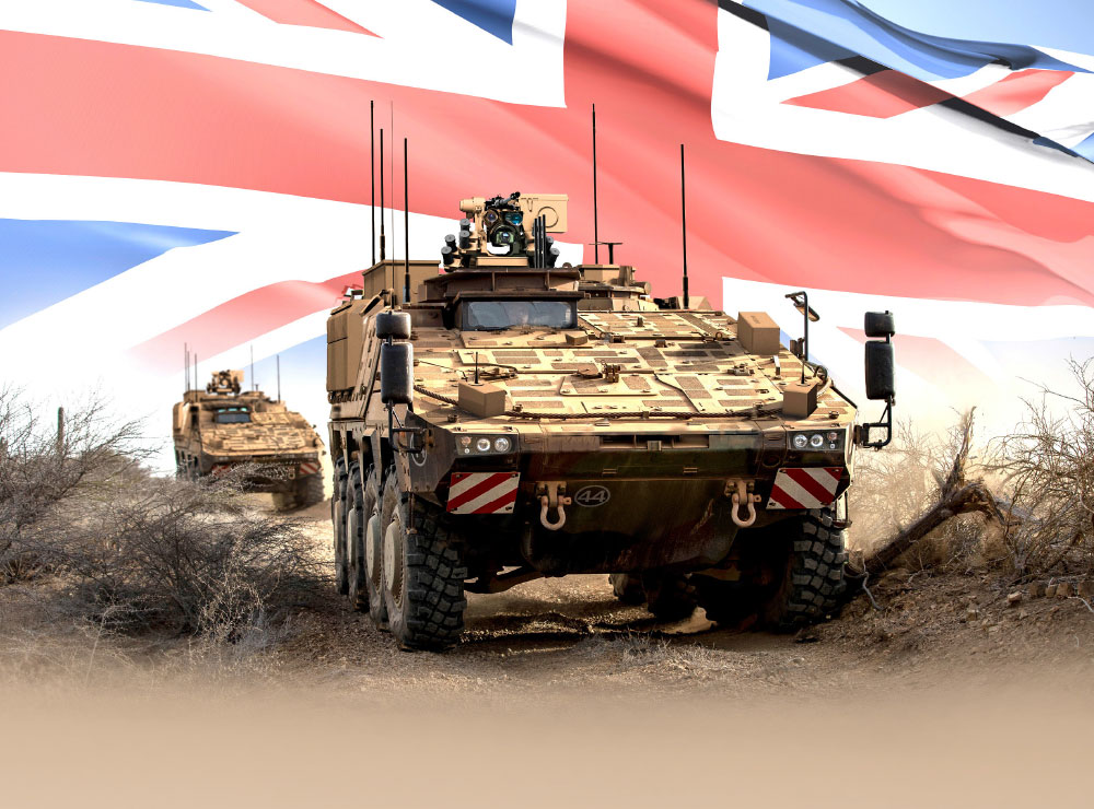 First Contract £2.3bn in the UK MoD Boxer MIV Program awarded to WFEL