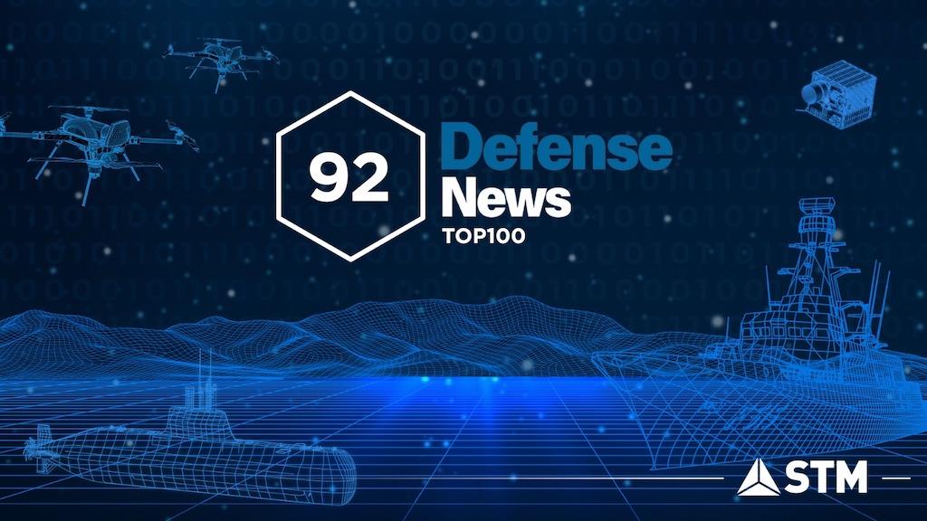 STM, Bu yıl da Dünyanın  En Güçlü 100  Savunma Sanayii Şirketi İçinde
