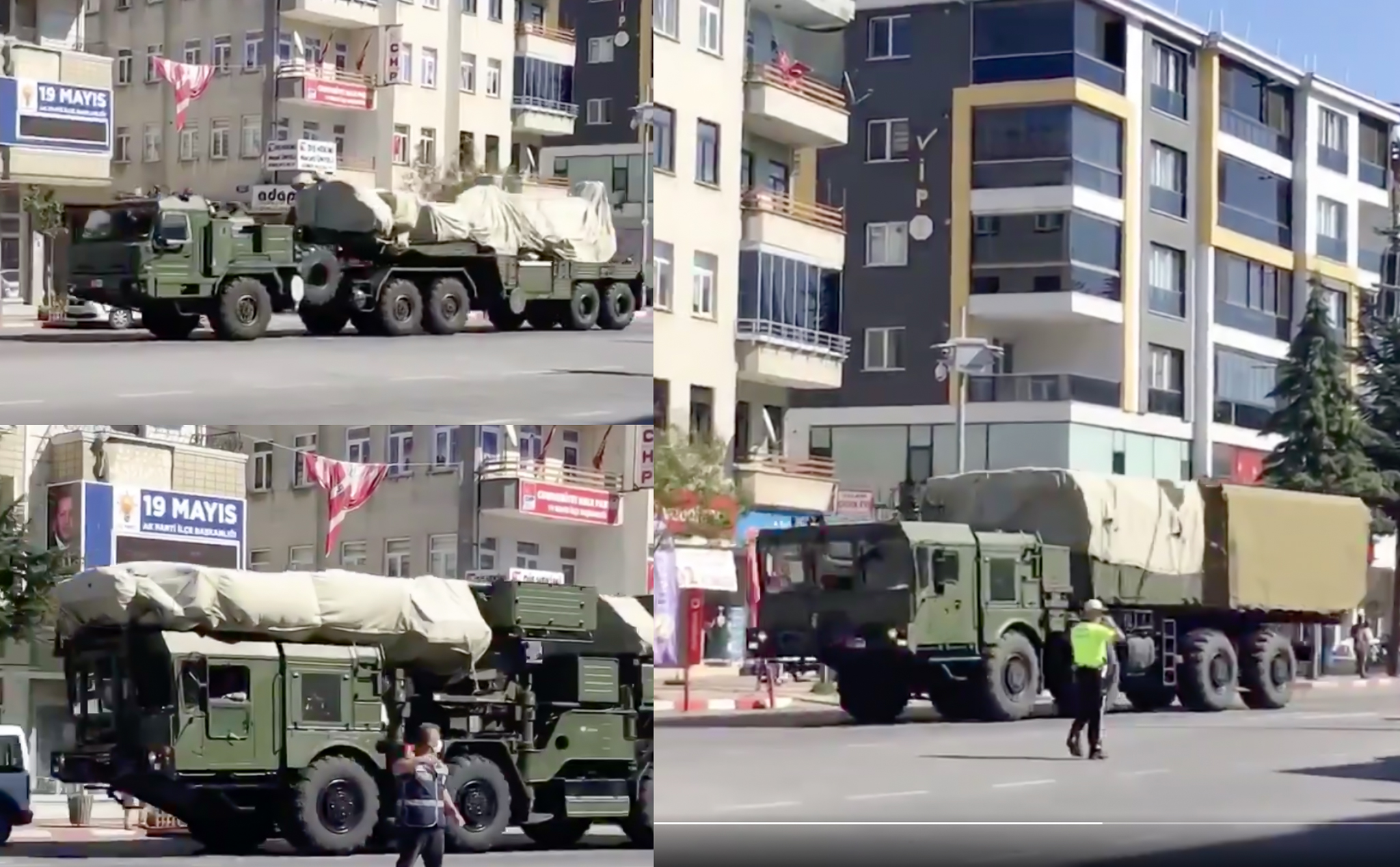S-400 Hava Savunma Sistemi Kapsamlı Radar ve Atış Testleri için Sinop'a İntikal Etti!
