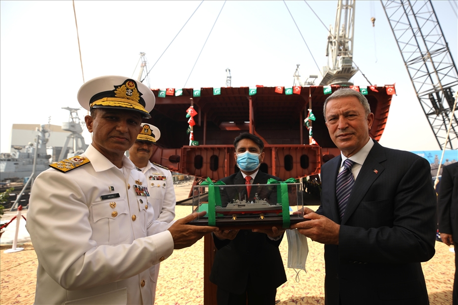Keel Laid for the 3rd Ship in the PN MILGEM Project