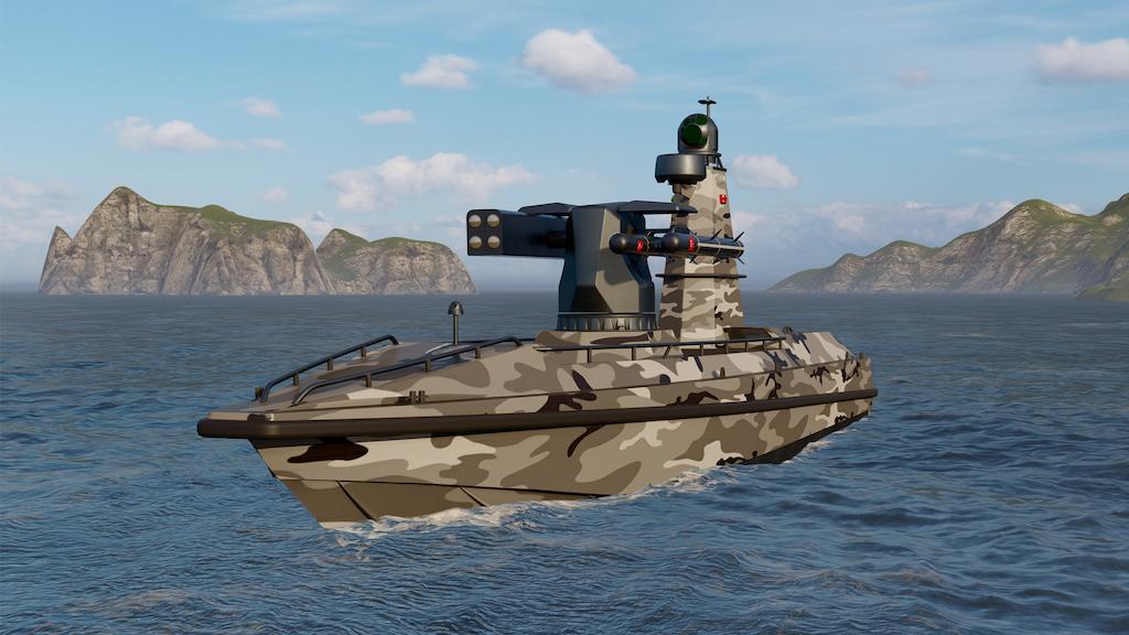 """Türkiye`nin İlk Silahlı İnsansız Deniz Aracı """"ULAQ"""" Tanıtıldı"""
