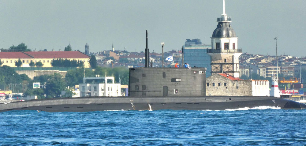 Project 877 & Project 636 Class Russian Submarines