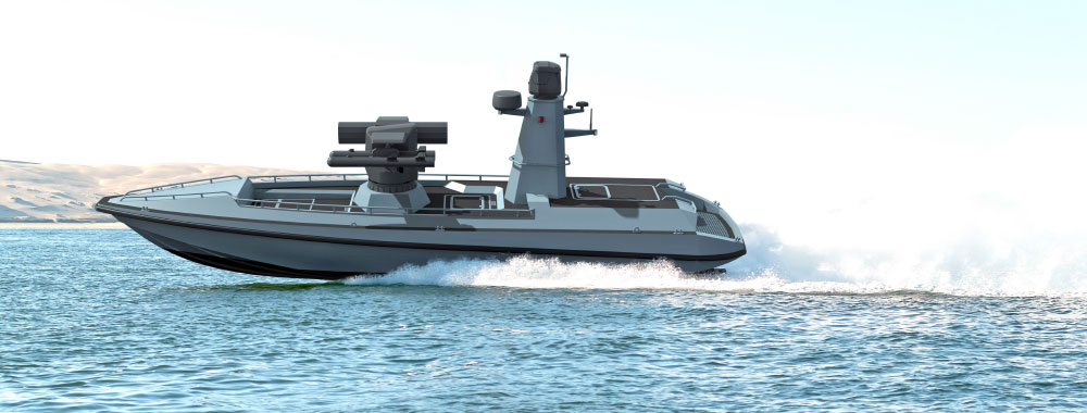 Turkey`s First Unmanned Combat Surface Vehicle