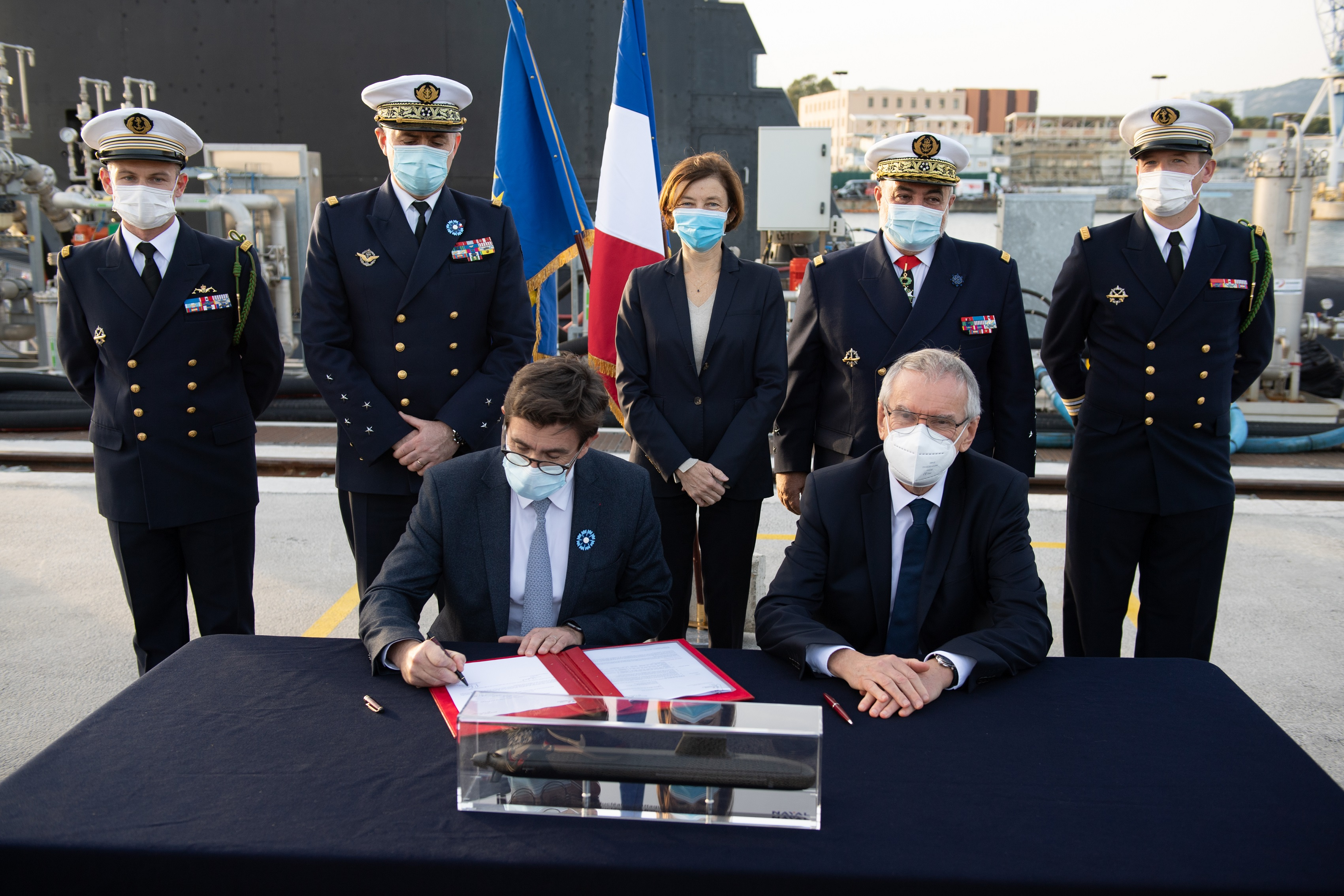 Naval Group delivers the Suffren to the French Defence Procurement Agency (DGA)