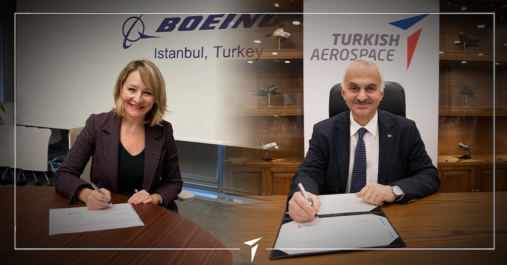 TURKISH AEROSPACE AND BOEING PARTNER TO PRODUCE THERMOPLASTIC COMPOSITES