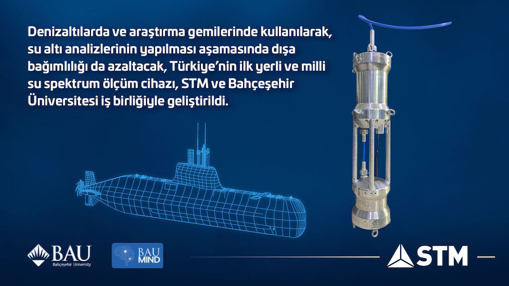 STM VE BAU'DAN Denizaltı  Teknolojisine  Kritik  Yerli  Çözüm