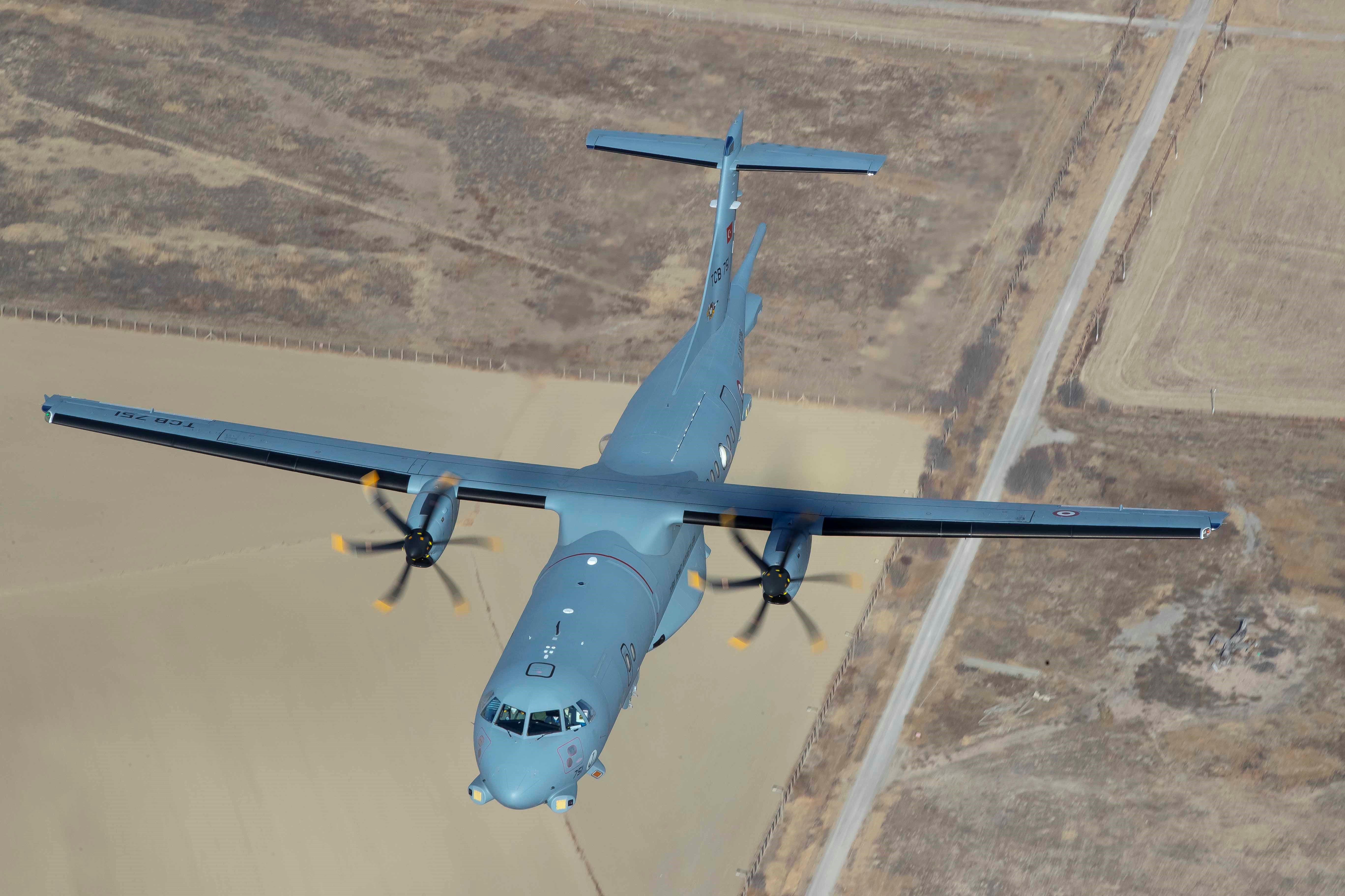 MELTEM-3 Projesinde ilk P-72 Deniz Karakol Uçağı Hizmete Girdi