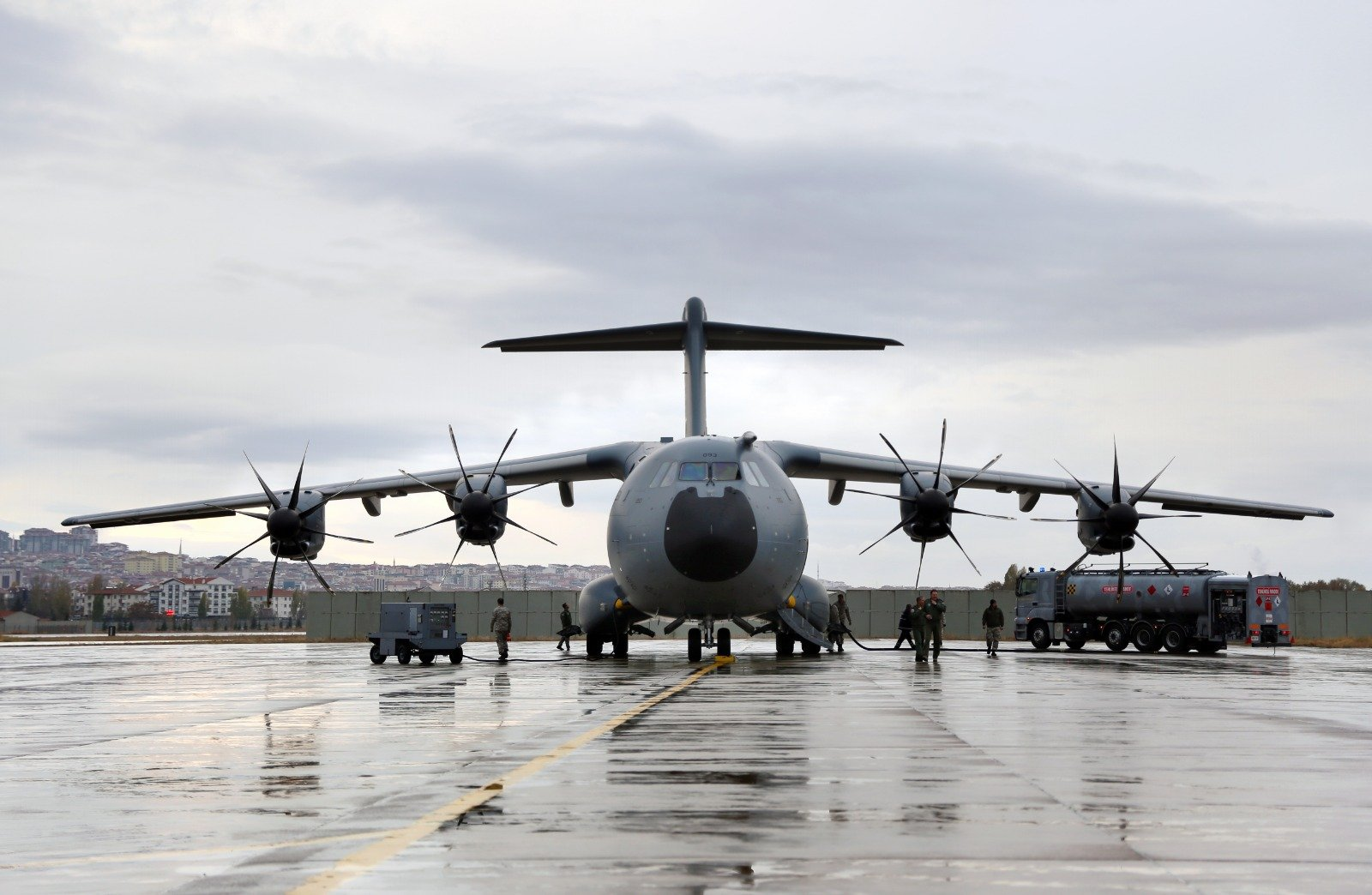 The Turkish First A400M Aircraft Retrofit Activities will be Completed Until 2021