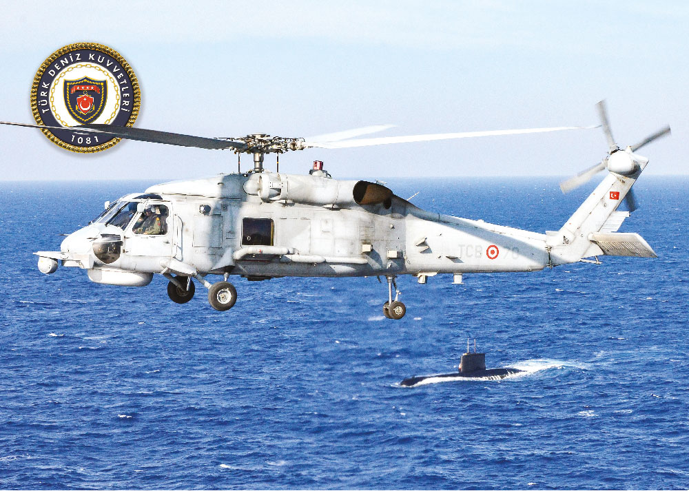 Turkish Naval Forces & The SH-70  (S-70B SeaHawk) ASW/ASUW Helicopters