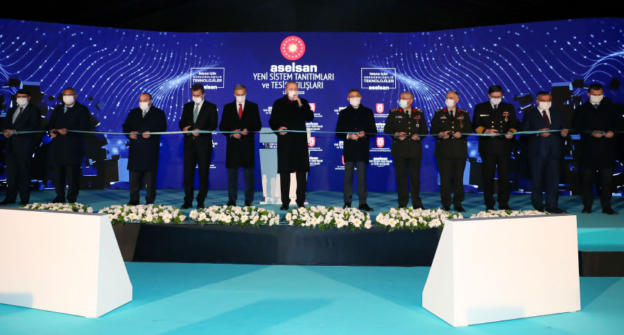 Inauguration  of the Aselsan Akyurt Guidance & Unmanned Systems Serial Production Facility