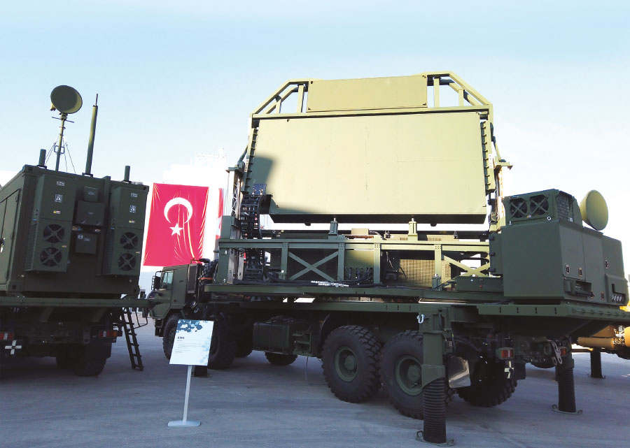 Aselsan Unveils its T/EIRS and STR Systems