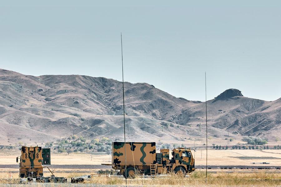KARAKULAK Electronic Warfare (EW)  System & KORHAN 35 mm Weapon System