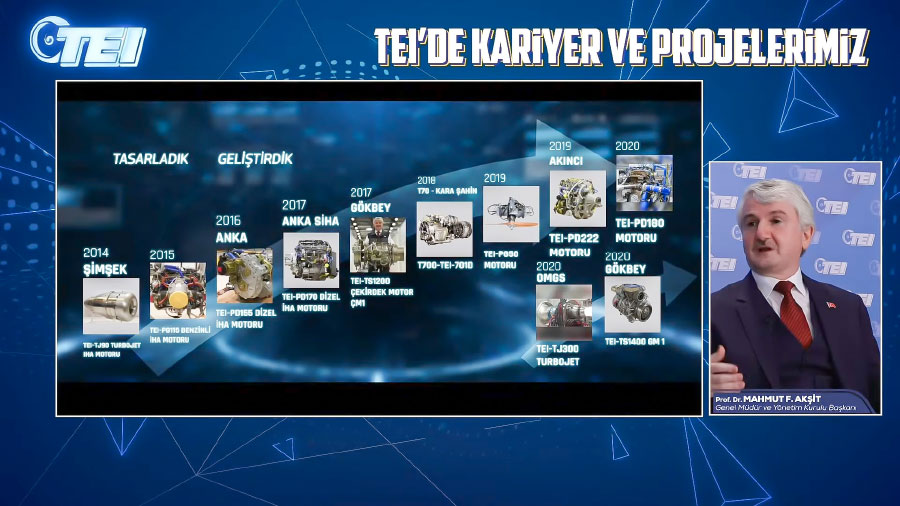 TEI Career & Projects Event Shares Detailed Information on Current Engine Projects