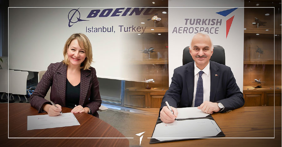 Turkish Aerospace & Boeing Partner to Produce Thermoplastic Composites