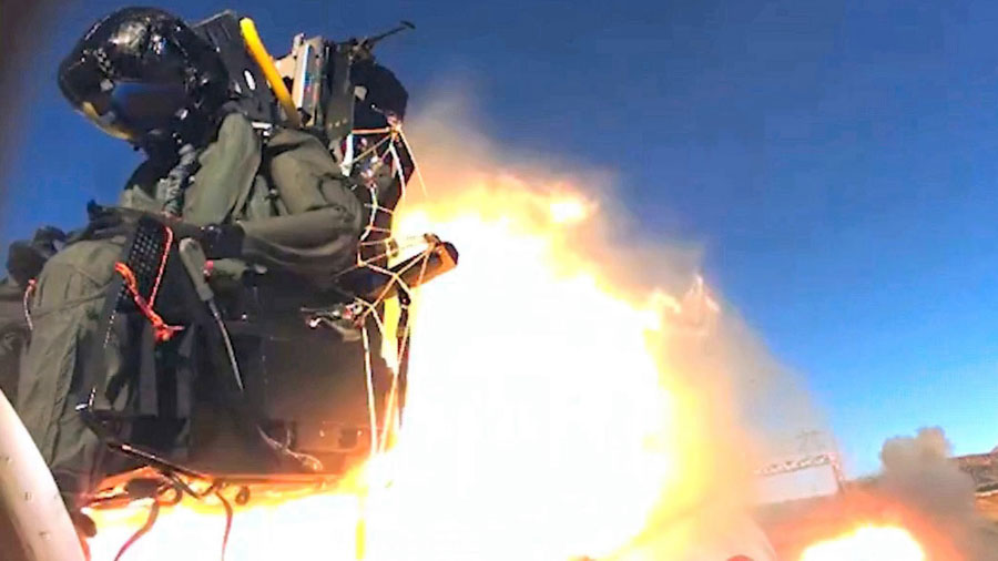 Collins Aerospace to Upgrade USAF F-15 Fleet with ACES 5® Ejection Seats