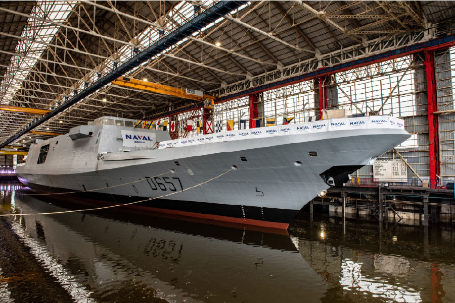 Naval Group Launched the FREMM Lorraine