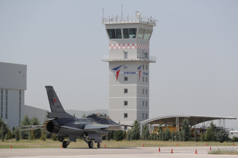 Structural Upgrade Of F-16 Blok 30 Fighter Jets Continues