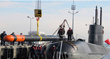 First Guided Firing Test of AKYA National Heavyweight Torpedo Against Mock Surface Target Successfully Carried Out