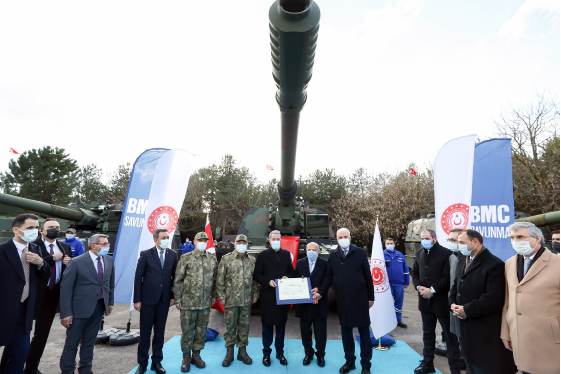New Generation FIRTINA-II Howitzers Delivered to the Turkish Armed Forces