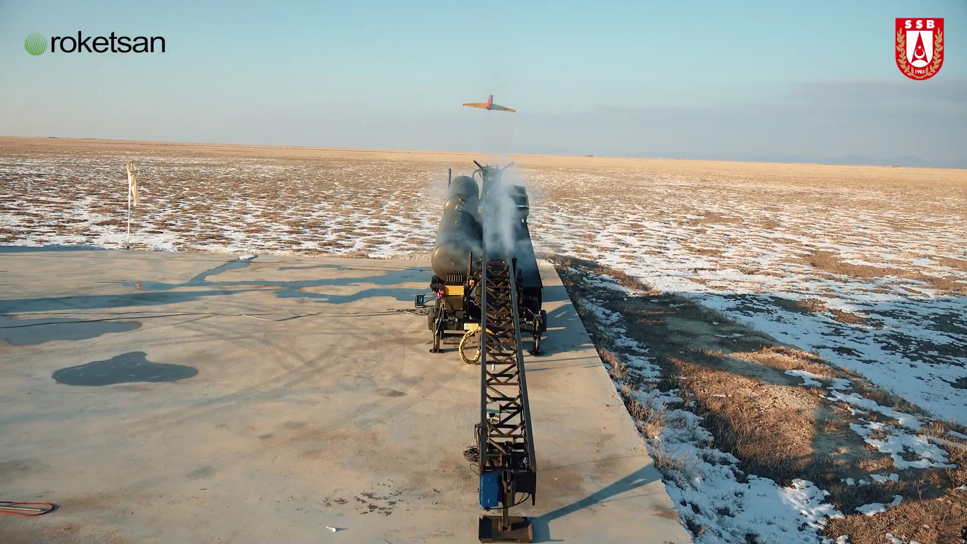 SUNGUR Low-Altitude Air Defense System Successfully Hits the Target