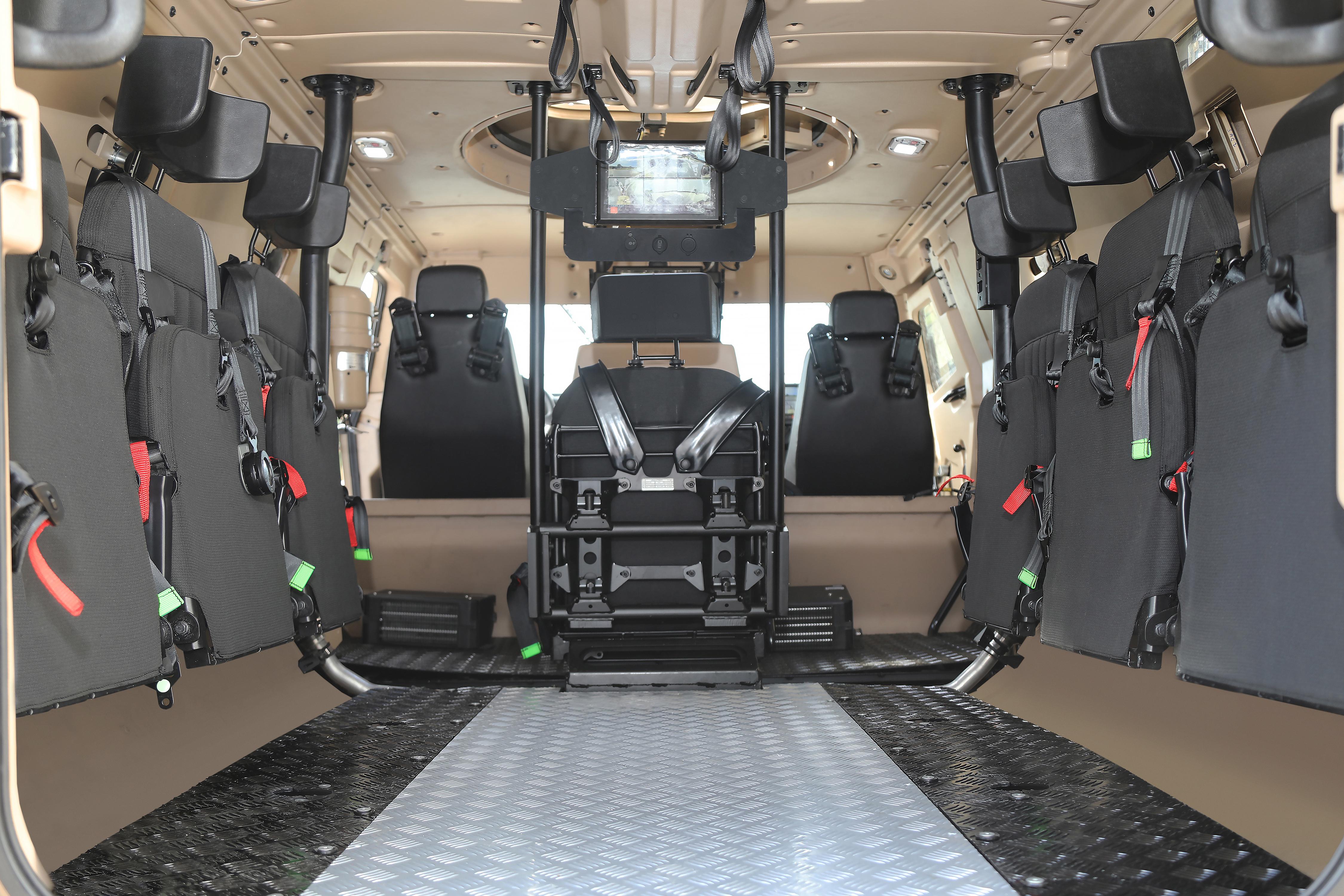 """Otokar, COBRA II Ürün Ailesini """"COBRA II MRAP (Mayına Karşı Korumalı Araç)"""" İle Genişletti"""