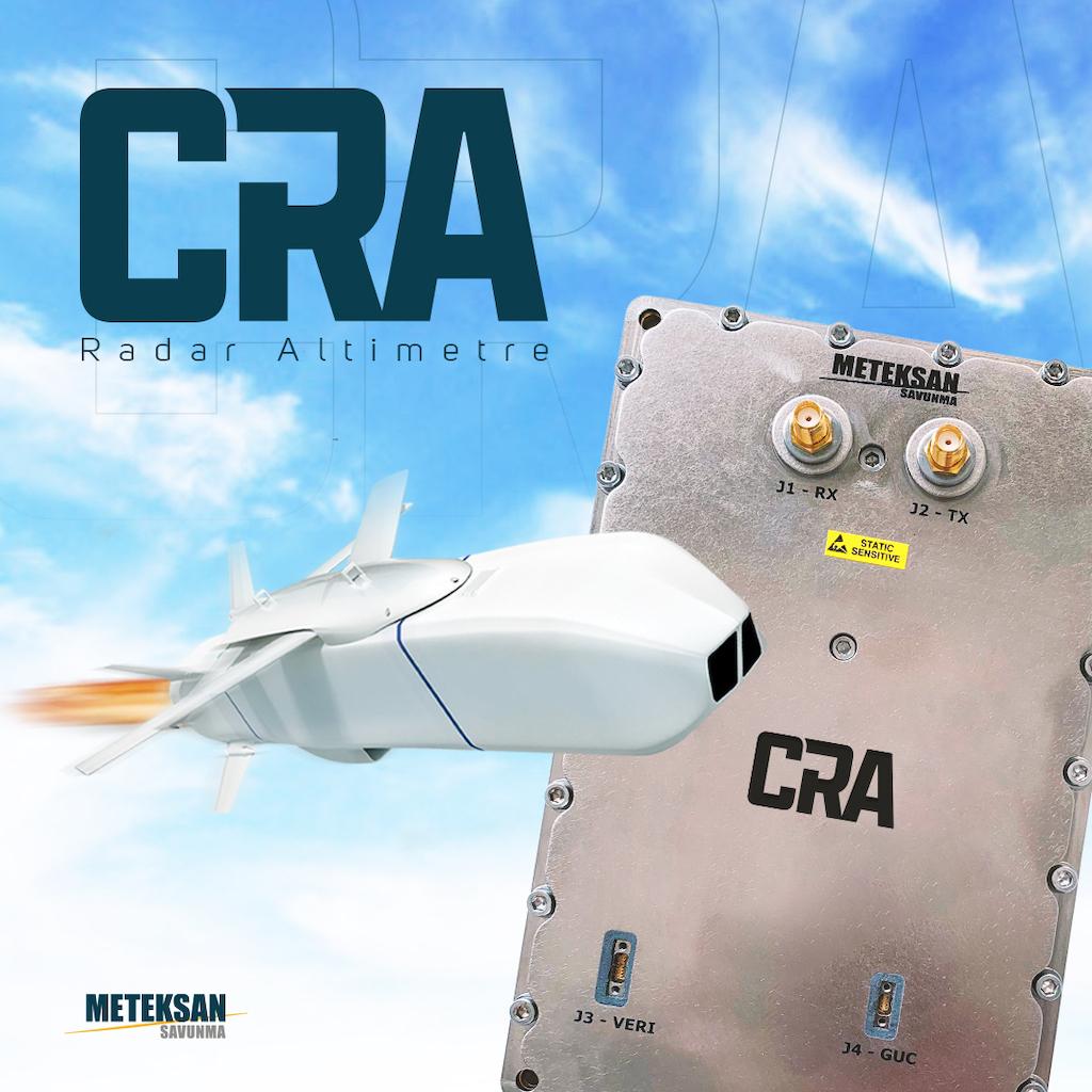 Meteksan Savunma Sanayii A.Ş. Tarafından Geliştirilen Radar Altimetre Yerli ve Milli Füze Sistemlerimizin Gücüne Güç Katmaya Devam Ediyor