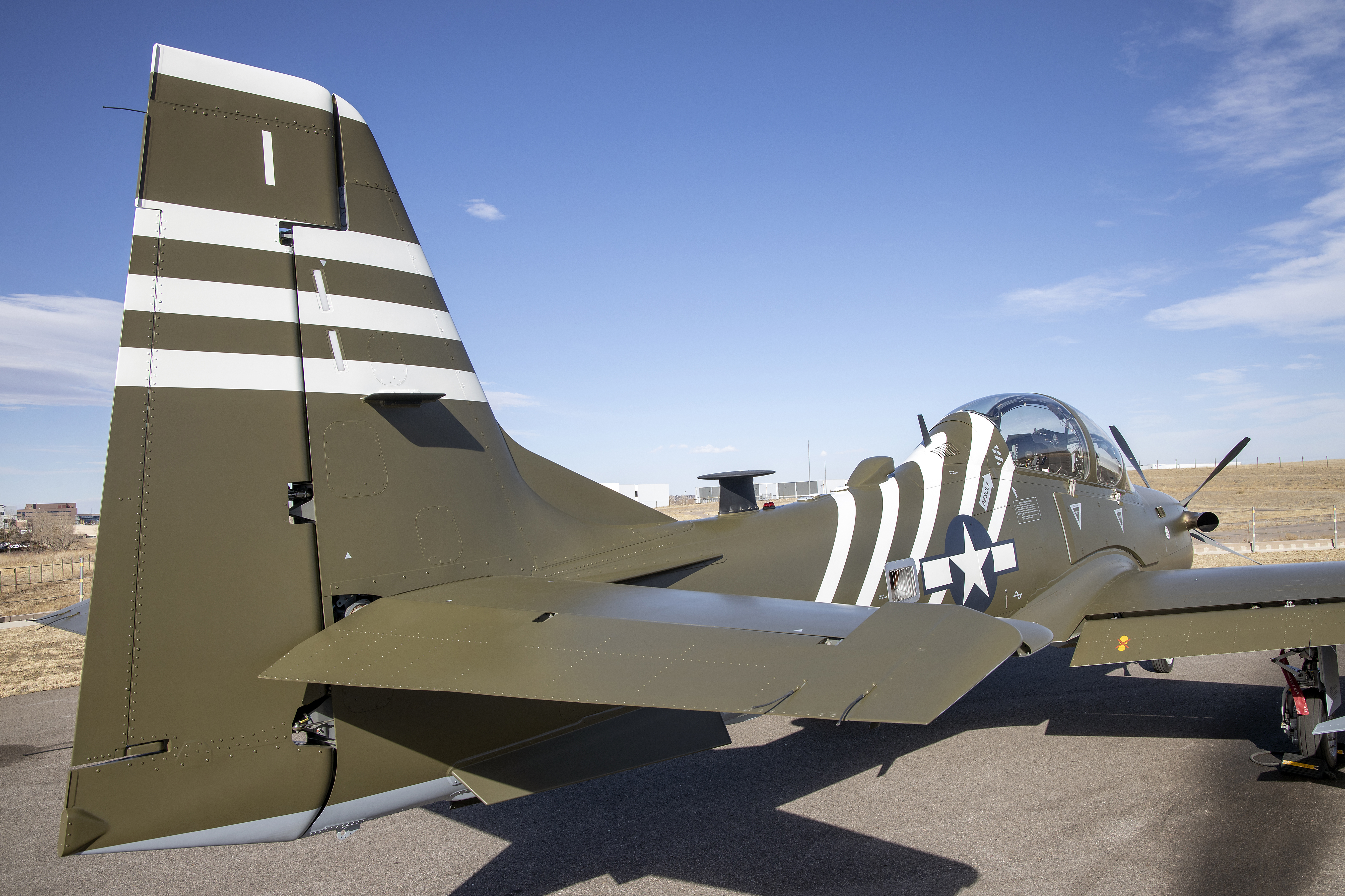 AFSOCS NEWEST A-29 LIGHT ATTACK AIRCRAFT CLOSER TO FINAL DELIVERY