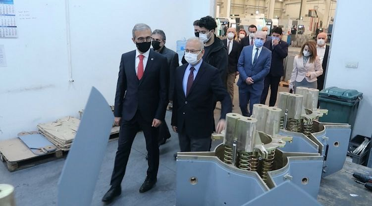 SSB Başkanı  DEMİR'DEN Ankara  1. OSB'YE Ziyaret