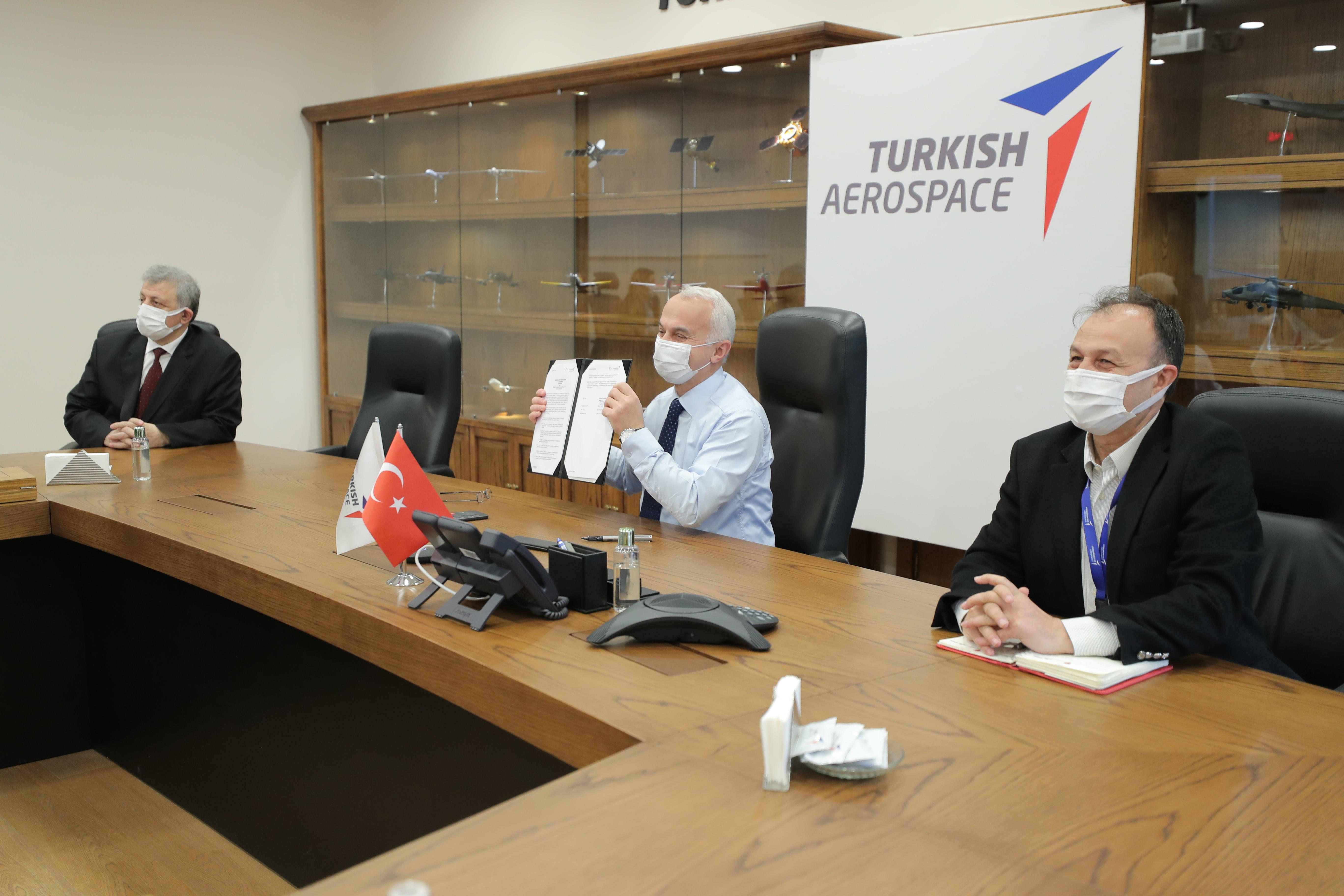 TUSAŞ'TAN Eklemeli  İmalat  Alanında  Uluslararası  İş Birliği