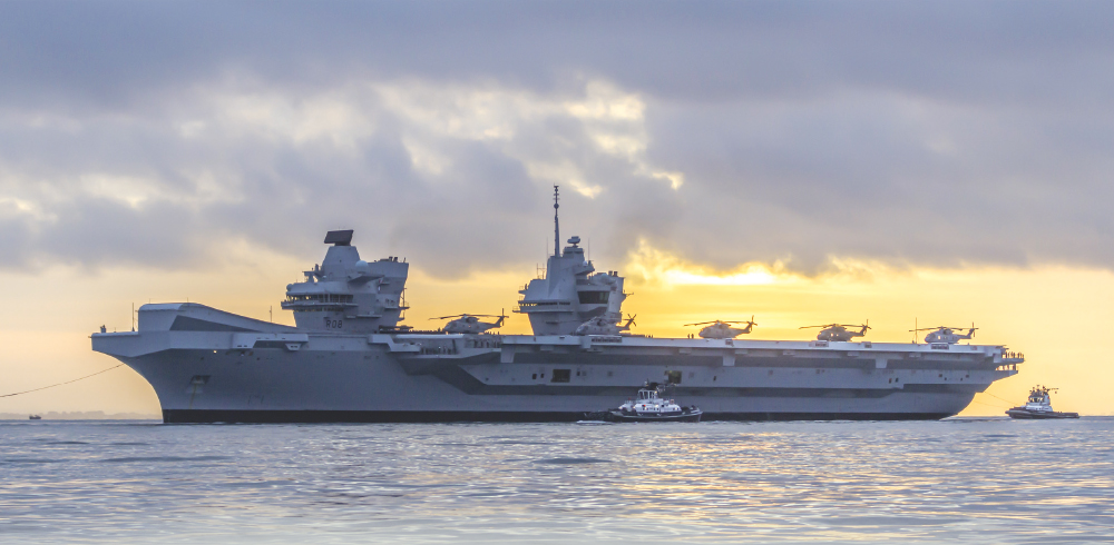 HMS Queen Elizabeth Class Carriers