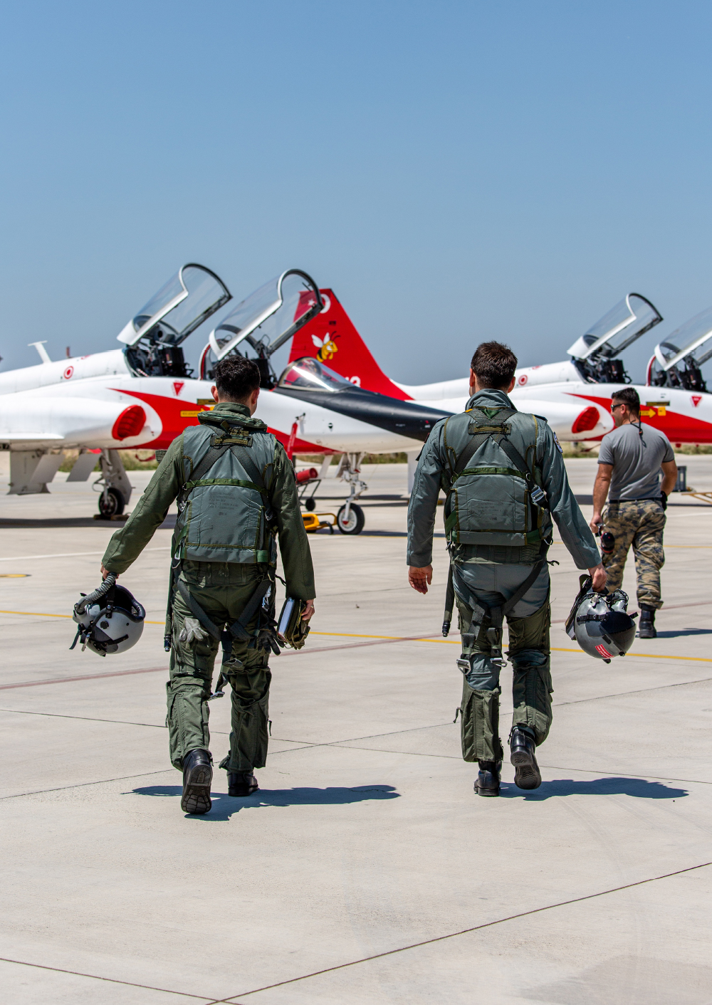 Initial Training For Combat Readiness Turkish Air Force Pilot Training Program