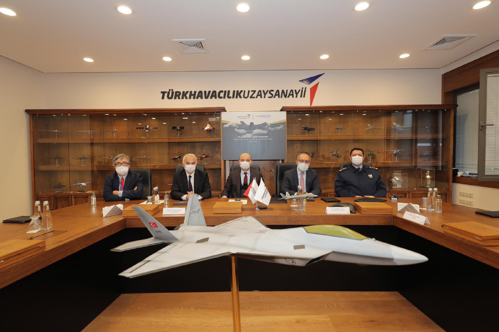 Turkish Aerospace & TRMOTOR Signs Protocol for the Development of MMU`s Power Units