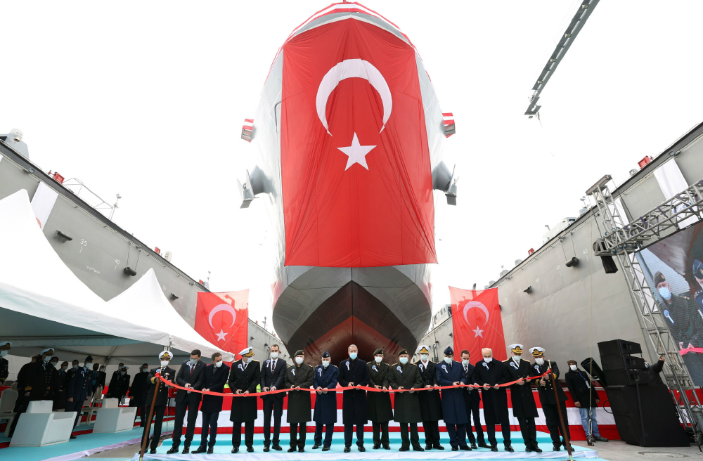 Turkish Naval Forces Commissions  10,000 Tons Floating Dock